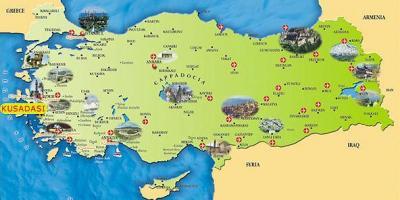 Karta Europa Turkiet.Turkijos Zemėlapis Europa Zemėlapyje Turkija Europoje Vakarų
